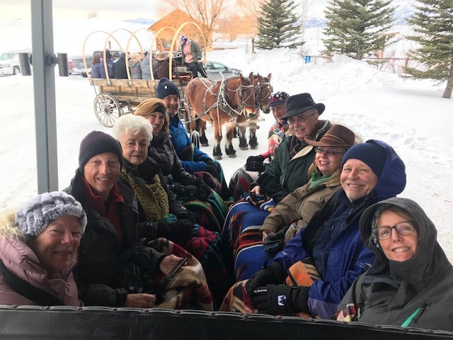 Jackson Hole 2020 Sleigh Ride
