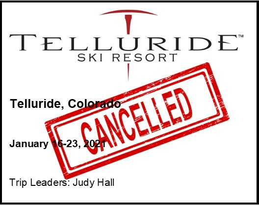 Trips Menu Square for Telluride 2021 Cancelled