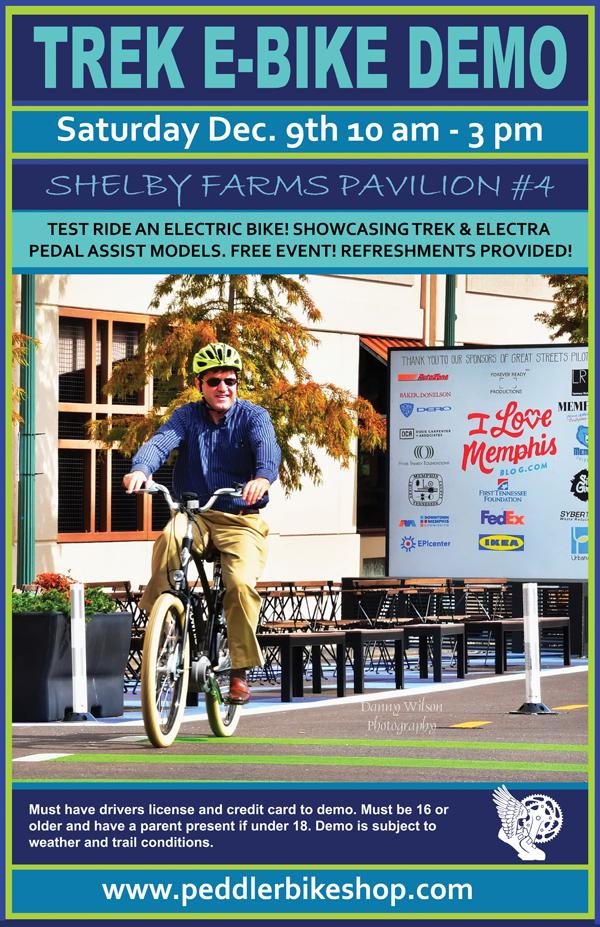 Trek E-Bike Demo Presented By The Peddler Bike Shop - Events