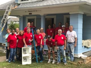 The CIO's mission is to bring together volunteers from throughout the metropolitan area to rehabilitate the houses of low-income homeowners, particularly the elderly, disabled, and veterans.