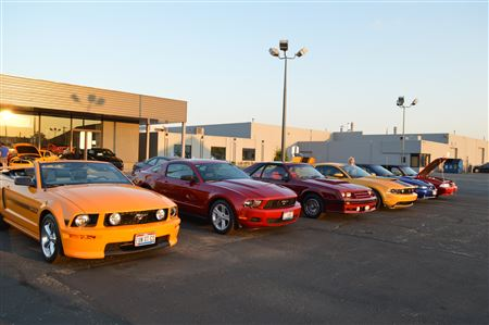 2013 MCO All Mustang Show at Krieger Ford