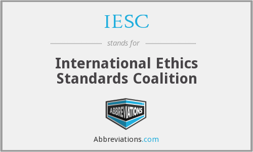 International Ethics and Standards
