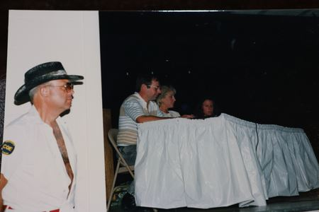 In the earlier days, the Kickoff meeting always included a skit with a theme.  Each trip chair also did skits related to their trips.  Many creative skits over the years!