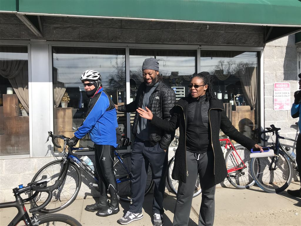 1st Club Ride of the 2018 Cycling Season