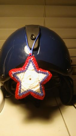 star on helmet