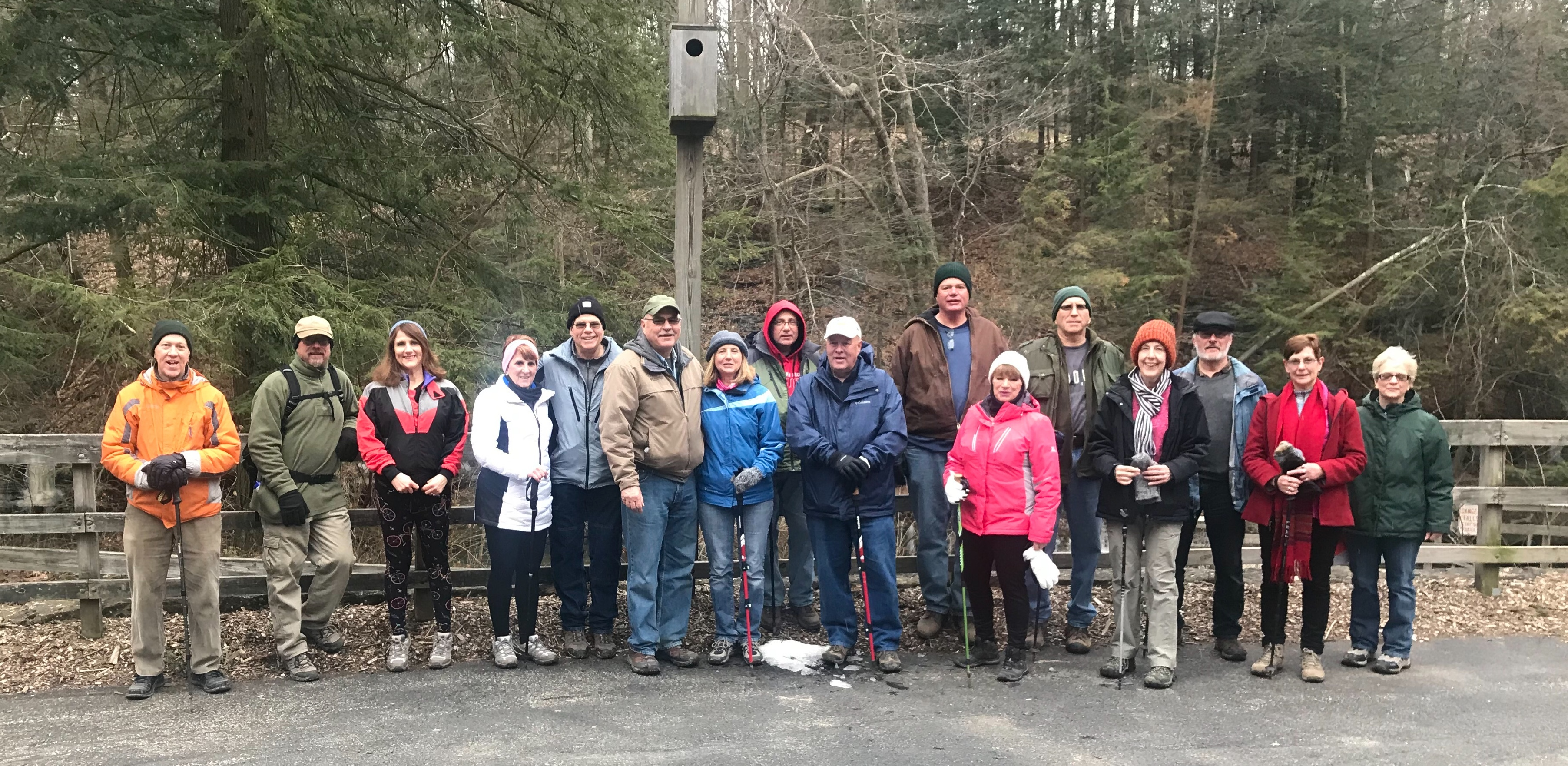 2/17/19. 5 mi hike. Thanks Duane for leading!