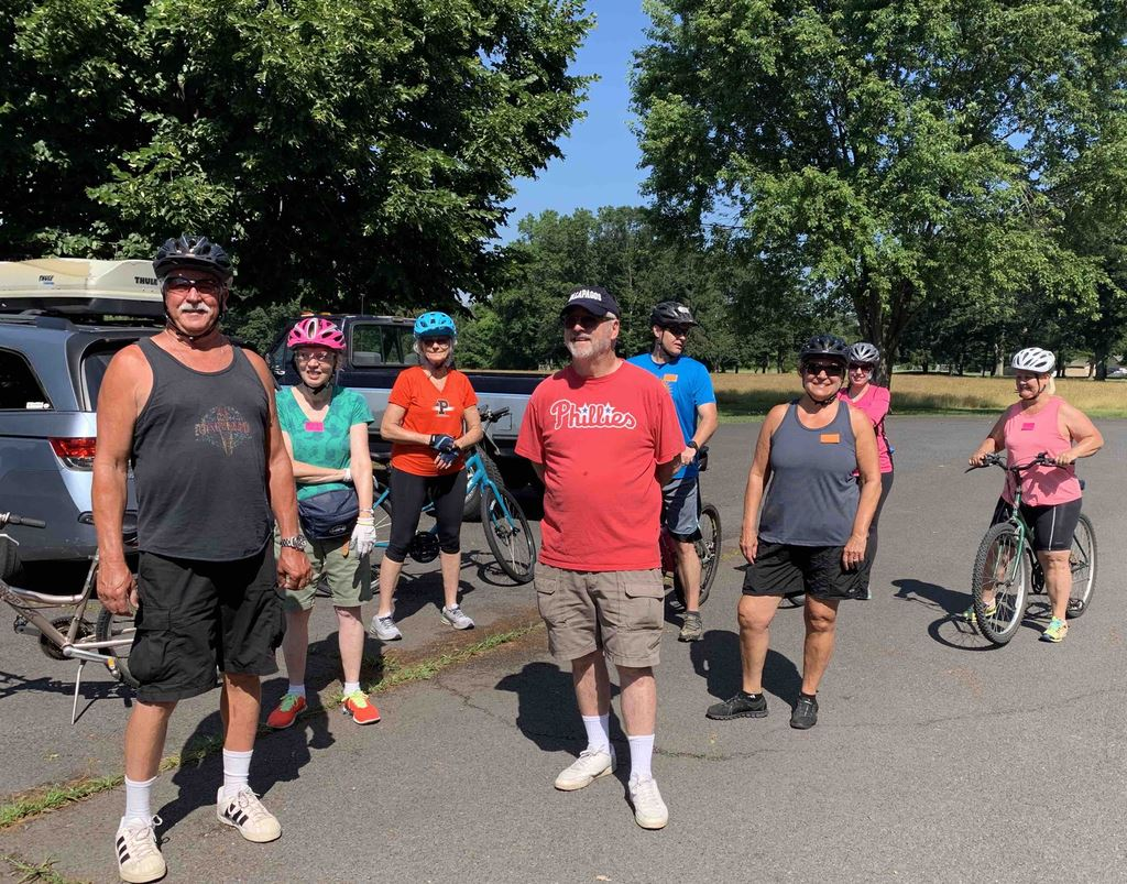 TSC Bike Ride June 28, 2020 on Canal PA side from Washington Crossing to New Hope