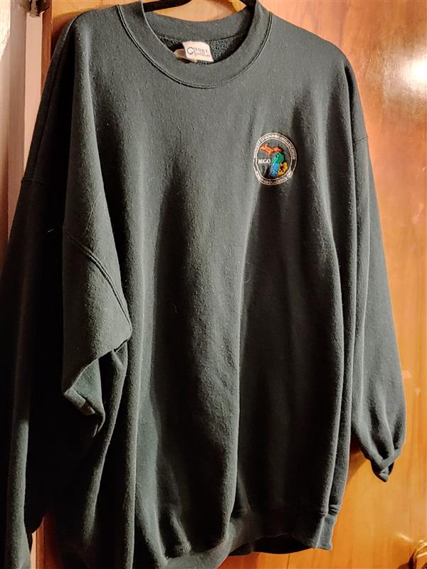 Sweatshirt with MiGO Seal 4 XL