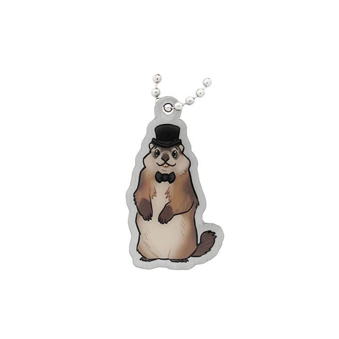 Ground Hog Travel Tag
