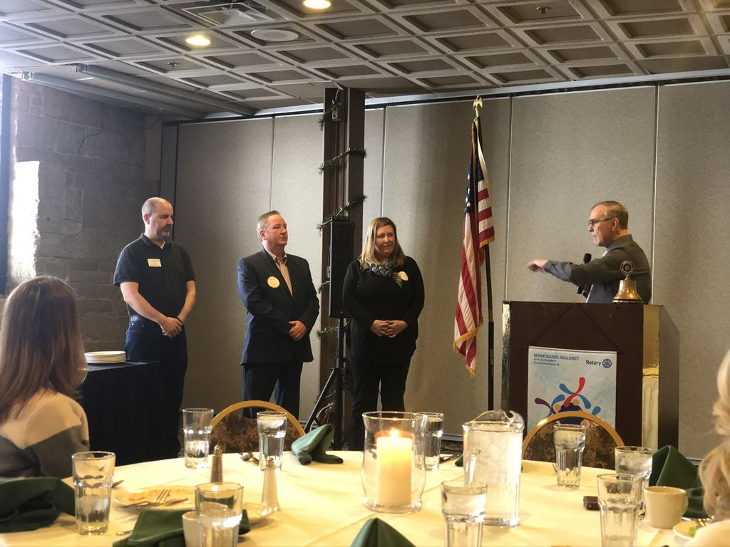 Welcome to our newest Rotary Club of Aurora Members!