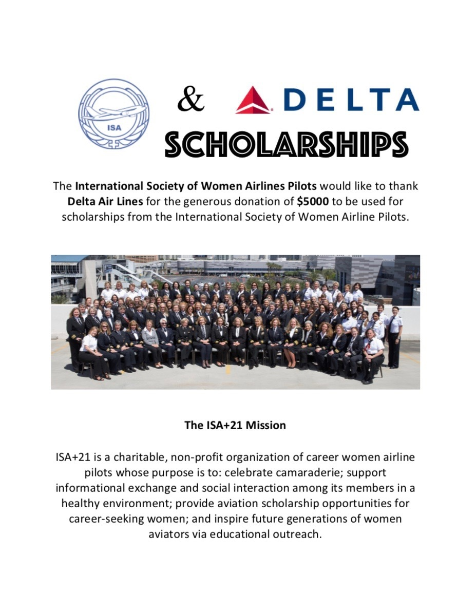 Delta scholarship approved press announcement