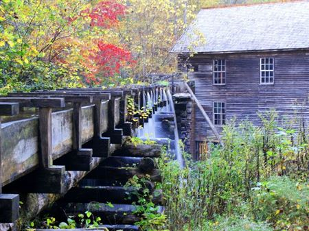 Mingus Mill, Built in 1886, Powered by Turbine, Operational