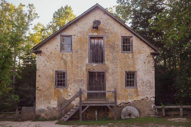 Batsto Grist Mill, Built: 1812, Powered by: Turbine