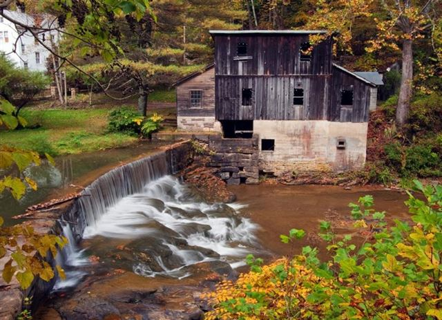 Turbine powered Mill & Power Plant on Laurel Creek, Fayetteville WV