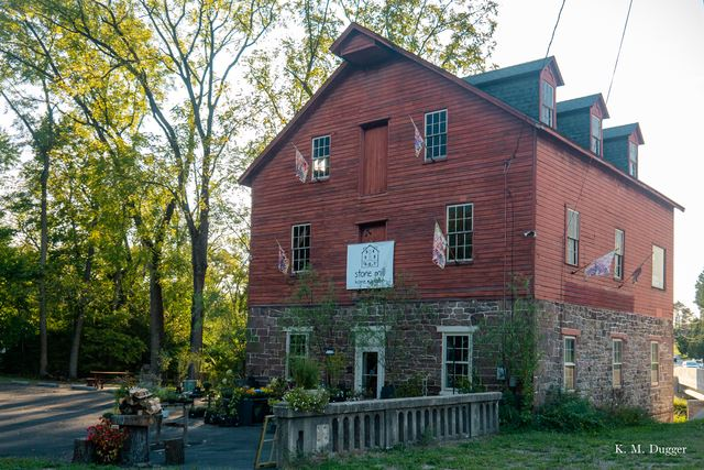 Harry Miller Mill, Built: 1738, Powered by: Turbine, Non-Operational