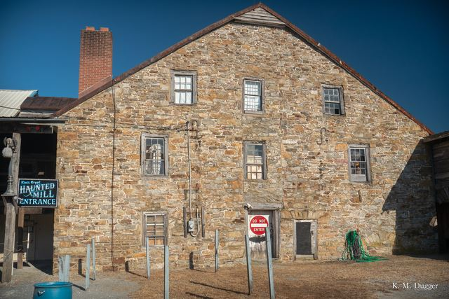 Menges Mill, Built in 1750, Powered by: Overshot Wheel