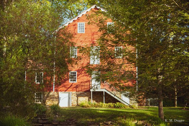Wallace-Cross Mill, Built: 1826, Powered By: Overshot Wheel, Operational