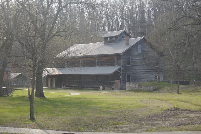 Jolly Grist Mill, Built in 1848, Powered by Turbine, Operational