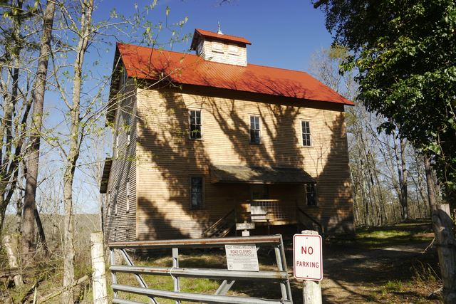 Greer Grist Mill, Built in 1859, 1870, Turbine Powered, Non-Operational