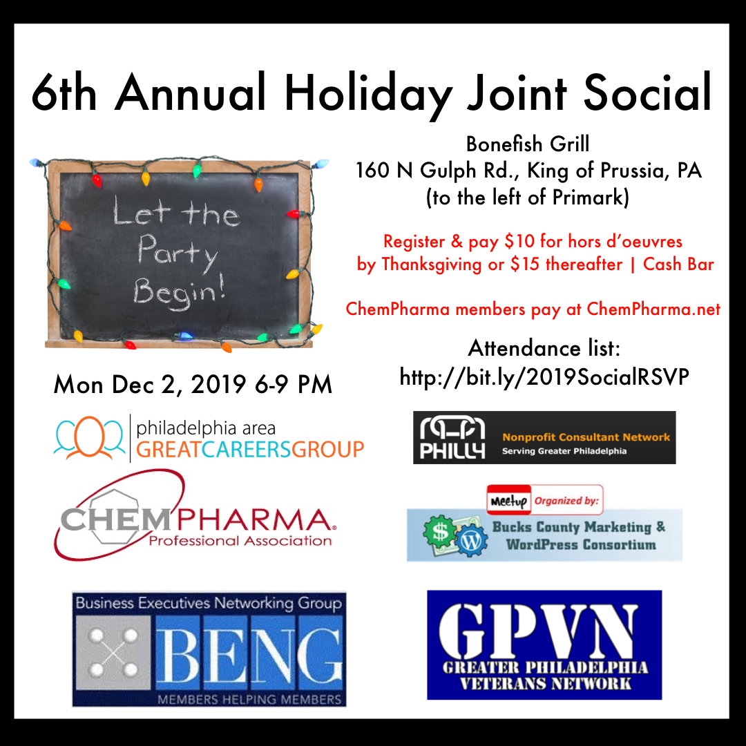 6th Annual Joint Holiday Social