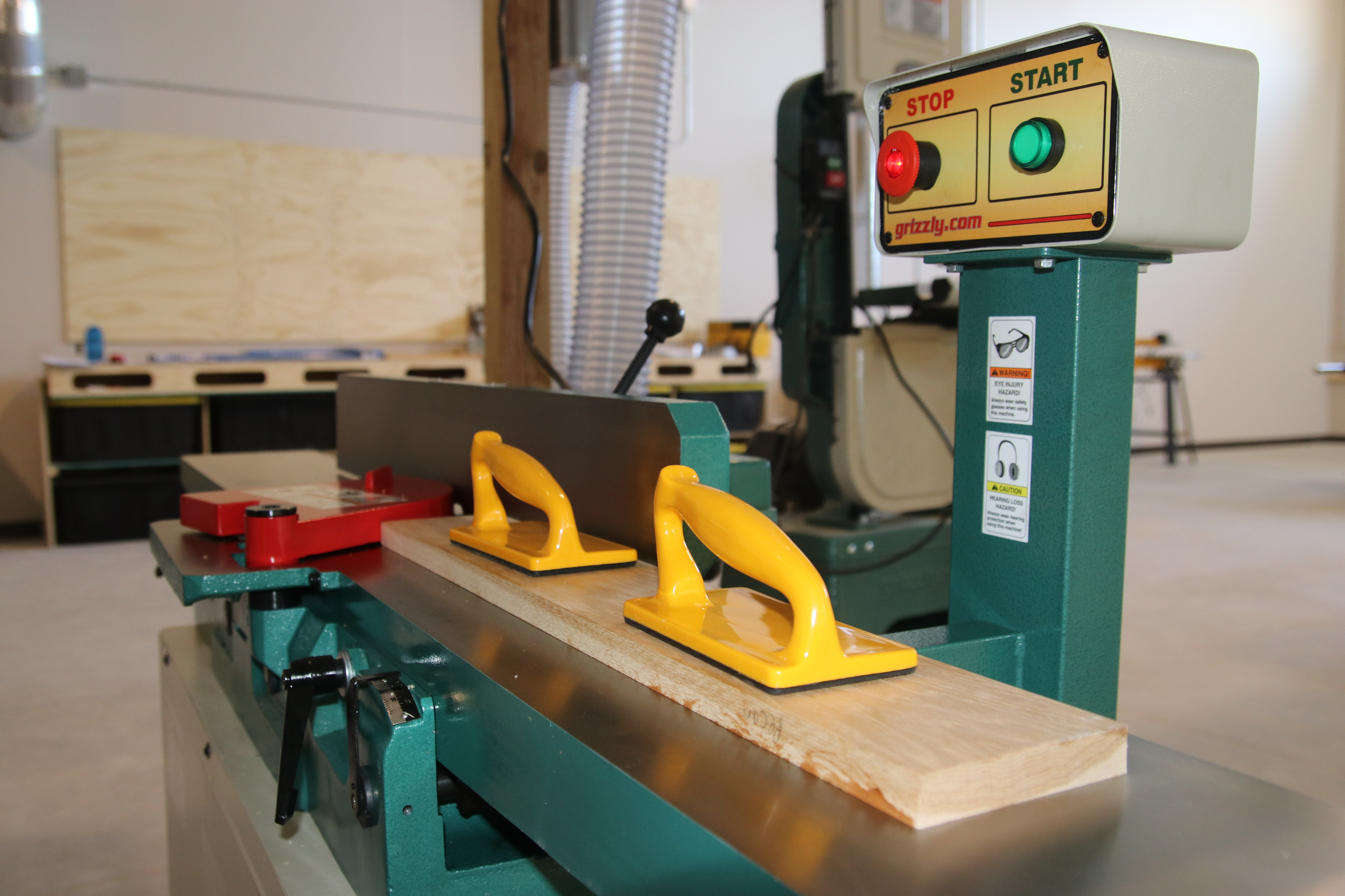 "8"" Helical jointer"
