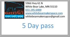 5 Day Pass - click to view details