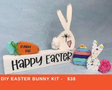 DIY Easter Bunny Kit - click to view details