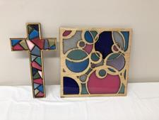 Faux Stained Glass  - click to view details