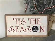 Seasonal Hockey Sign - click to view details