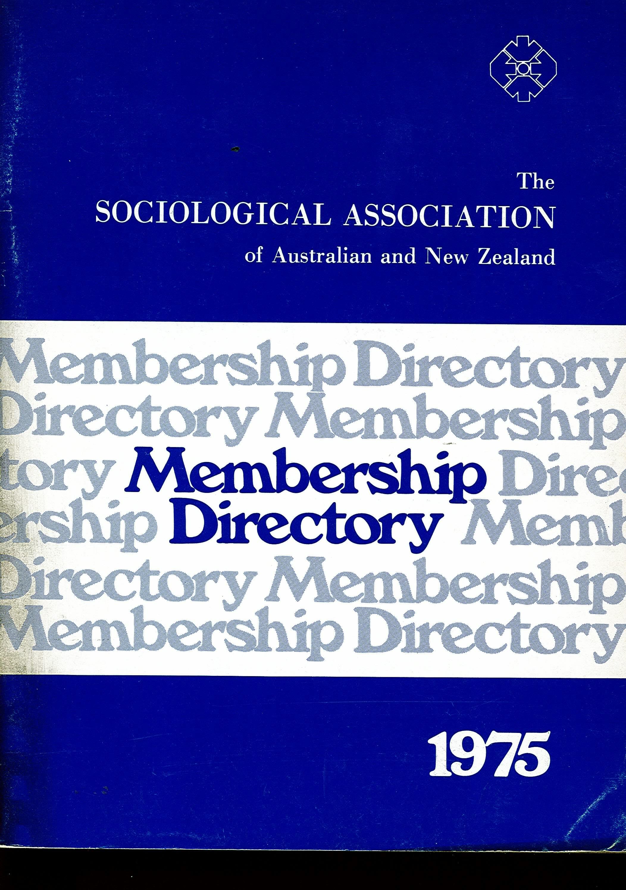 1975 membership cover