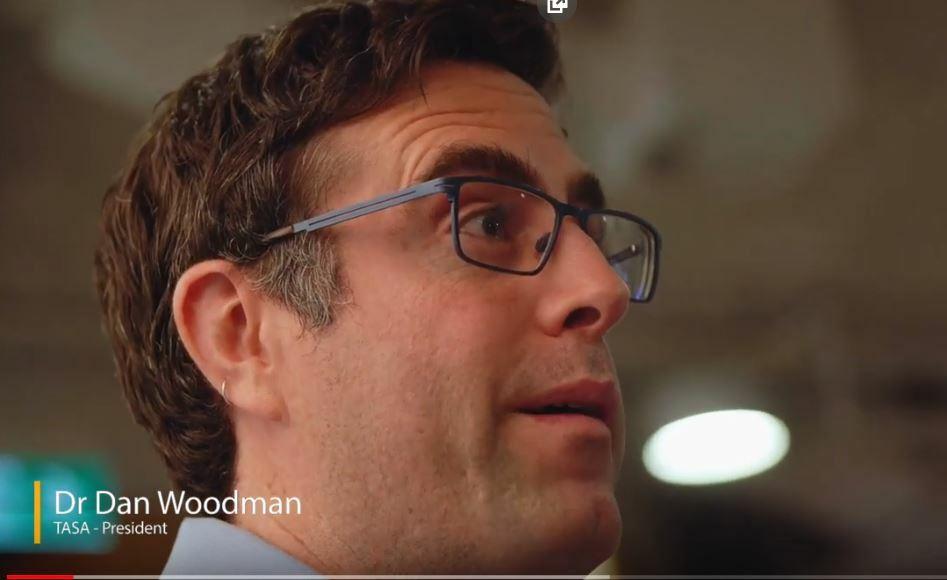 Dan Woodman talking about TASA
