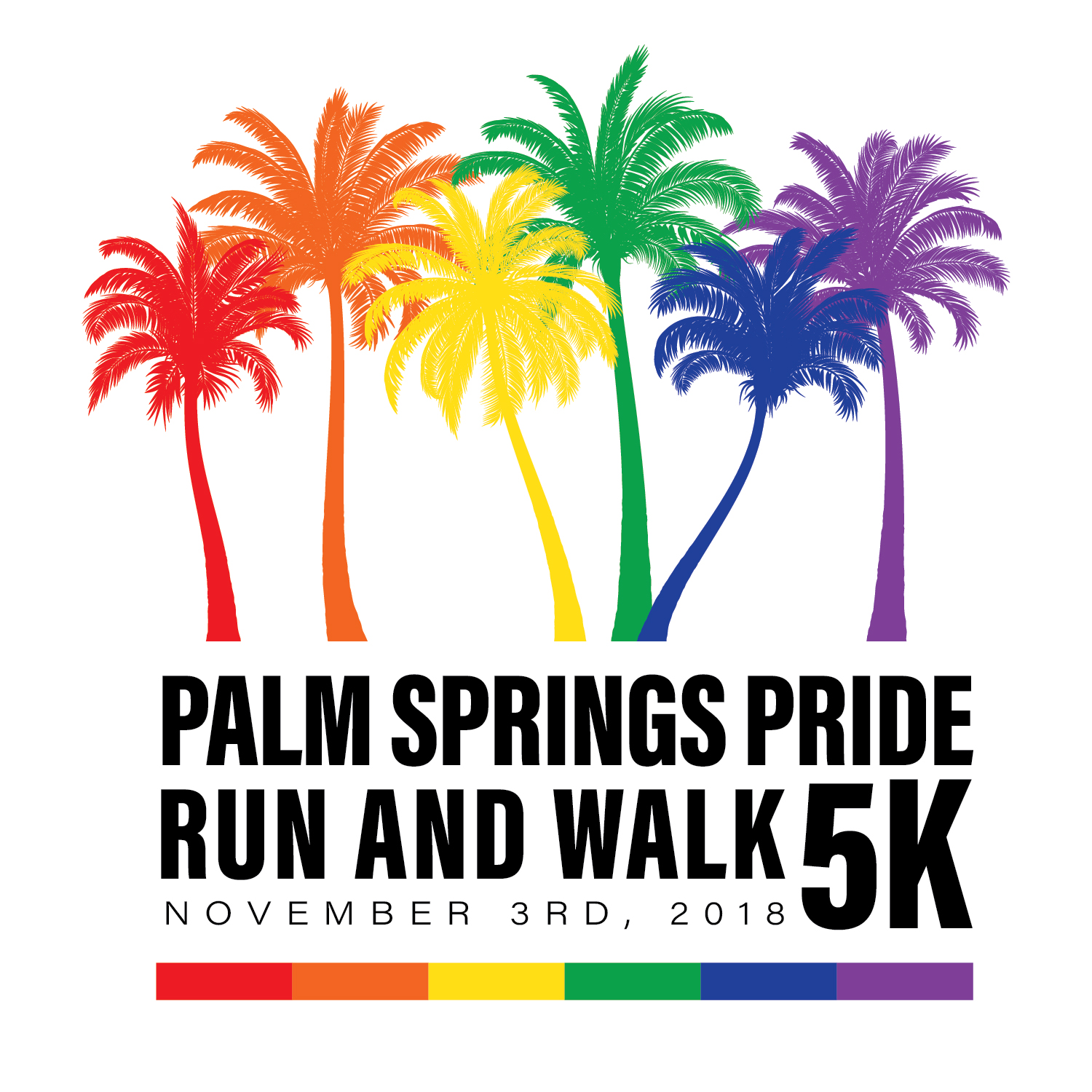 2018 Pride Run and Walk logo 2