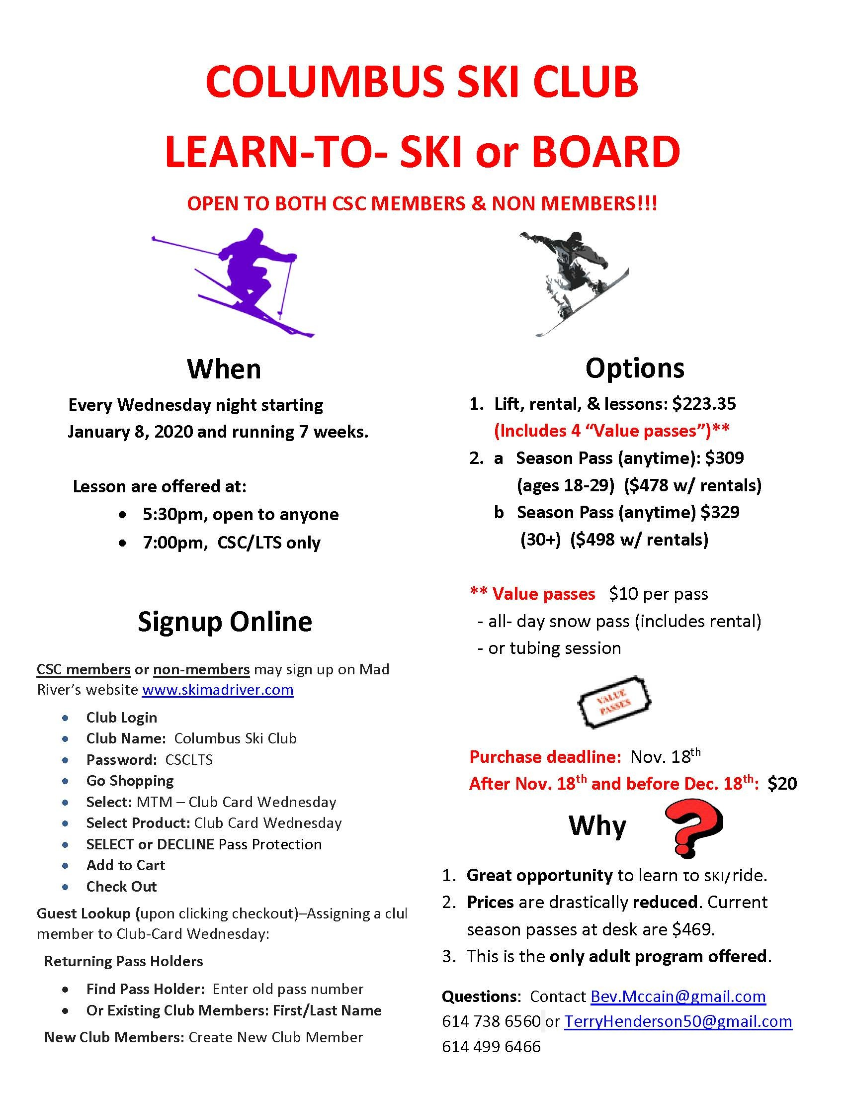Learn to Ski Flyer