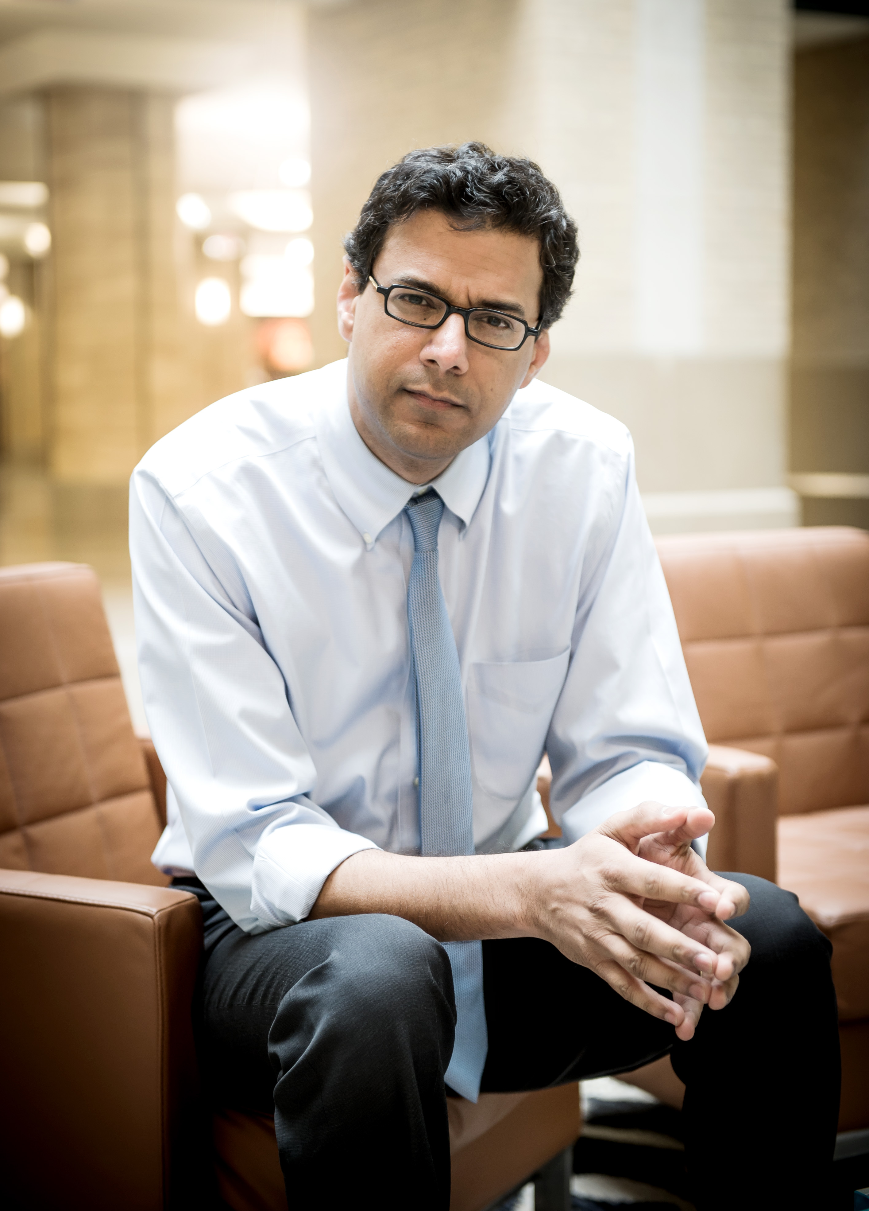 """Dr. Atul Gawande, author of """"Being Mortal"""""""