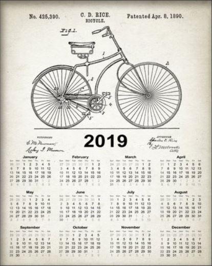 2019 Bike Calendar