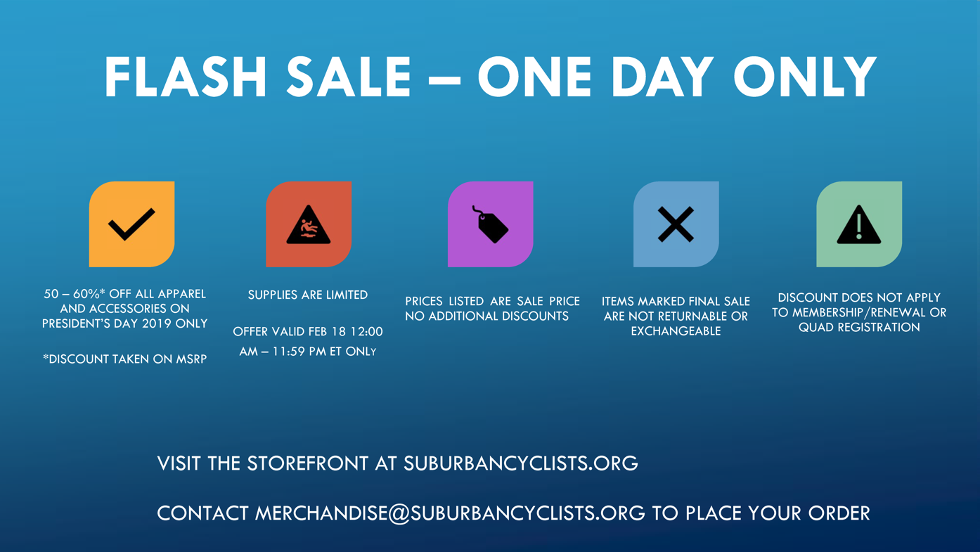 SCU Store Flash Sale