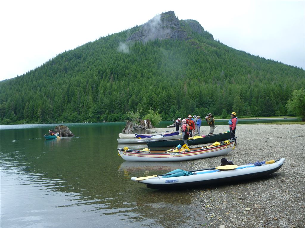 Photos from June 23 & 24 during the Intro to River Canoeing Class