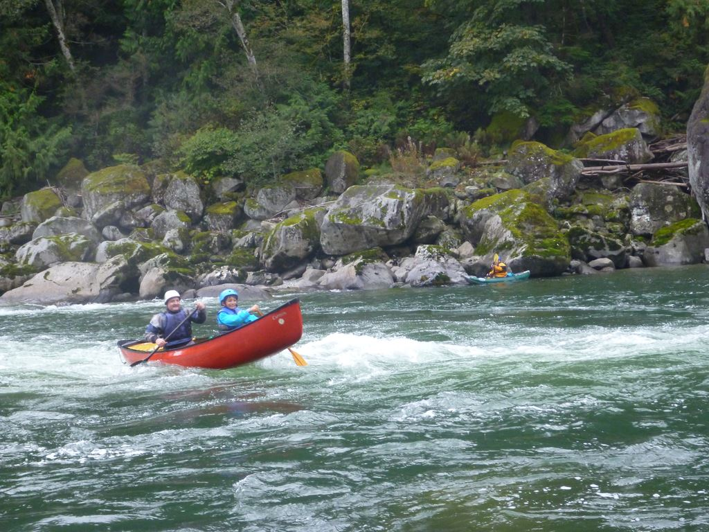 Skykomish from below Boulder Drop to Big Eddy (III) at 1500 cfs