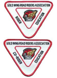 Rider Education Level II Patches