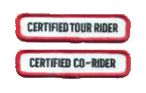 Rider Education Level III Patches