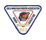 Rider Education Level IV Patches