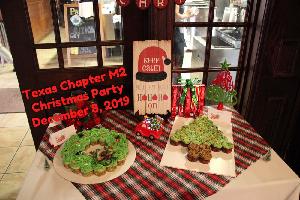 The M.A.S.H Chapter Christmas Party 2019.