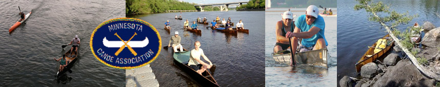 Minnesota Canoe Association website header