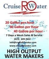 Cruise RO Water