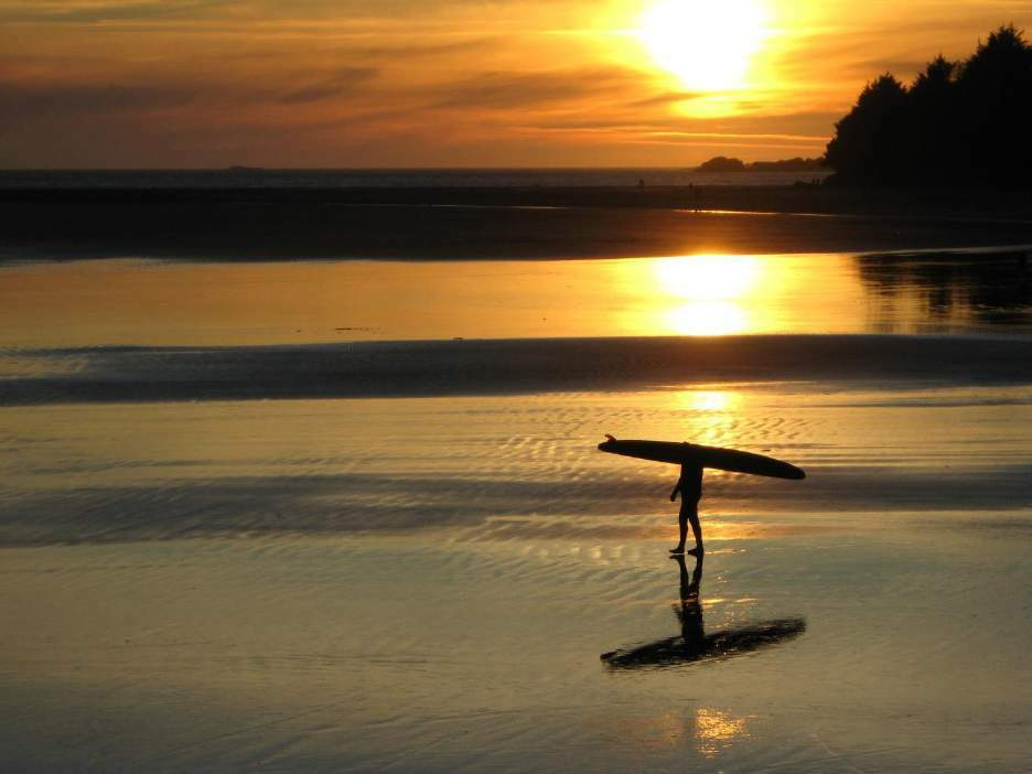 Surfing in Tofino Marc Bodian