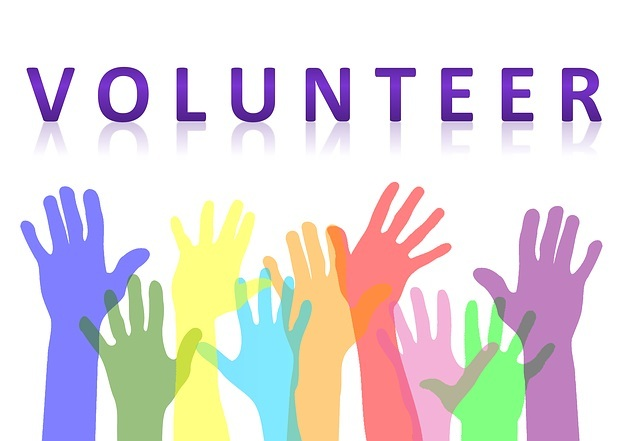 Volunteer Hands Raised Pixabay