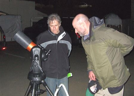 Pictures from some star parties to test the photo album