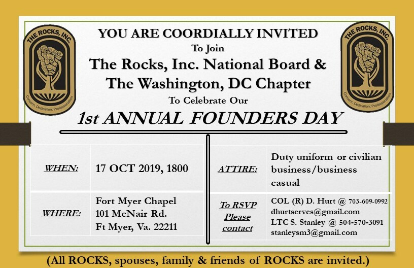 1st annual founders day
