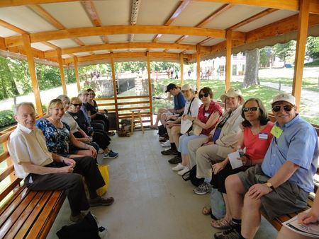 VoK Members take a ride on the historic canal boat in Potomac, MD.