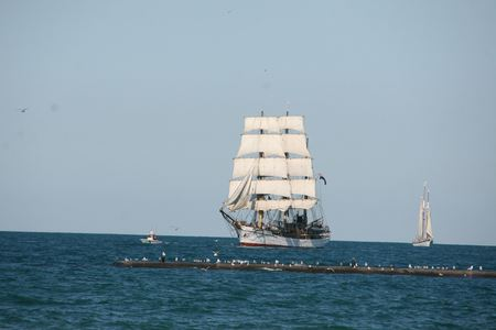 Tall Ships Came to Kenosha Aug 2019